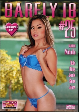 Barely 18 #25 - DVD
