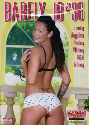 Barely 18 #36 - DVD